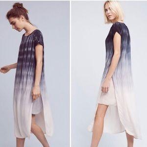 Anthropologie Cloth & Stone Horizon Fade Dress